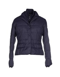 Caractere Down Jackets Dark Blue
