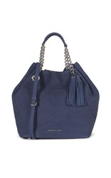 Karen Millen Slouchy Bucket Bag Blue