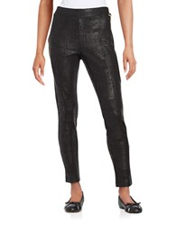 Calvin Klein Textured Leggings Black