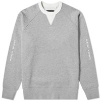 Rag And Bone Anson Crew Sweat Grey