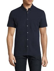 Barbour Somerto Regular Fit Shirt Navy