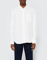 Our Legacy First Shirt White Linen
