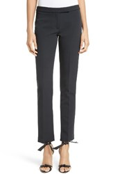 Milly Women's Stretch Crepe Cigarette Pants