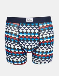 Happy Socks Diamond Trunks Blue