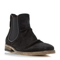 Bertie Chingy Washed Ankle Boot Black