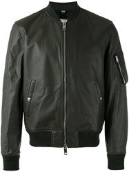 Burberry Bomber Jacket Green