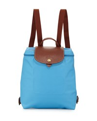 Le Pliage Nylon Backpack Cornflower Longchamp