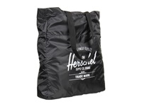 Herschel Packable Travel Tote Bag Black Tote Handbags