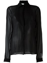 Nostra Santissima Semi Sheer Blouse Black