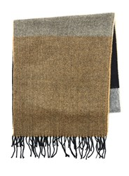 Topman Black And Camel Scarf