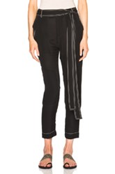 Juan Carlos Obando Summer Tonka Trouser Pants In Black