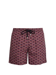 Vilebrequin Moorea Anchor Print Swim Shorts Navy Multi