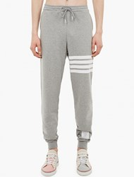 Thom Browne Grey Cotton Sweatpants