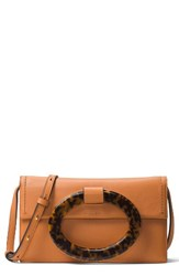 Michael Kors Baxter Calfskin Leather Convertible Clutch