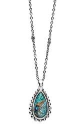 Lagos Women's 'Maya' Teardrop Pendant Necklace