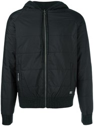 Bikkembergs Reversible Hooded Jacket Black