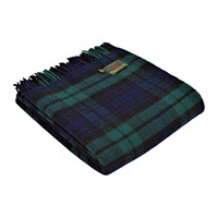 Tweedmill Pure New Wool Tartan Throw Blackwatch