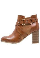 Anna Field Ankle Boots Brown Cognac