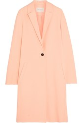 Cedric Charlier Crepe Coat Orange