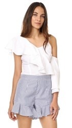Mlm Label Clyde Top White Linen