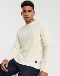 Tom Tailor Knitted Jumper In White