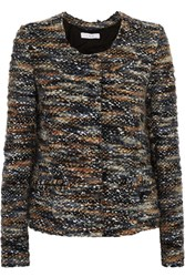 Iro Molly Boucle Tweed Jacket Gray