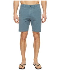 Volcom Snt Faded Hybrid Shorts Air Force Blue Men's Shorts