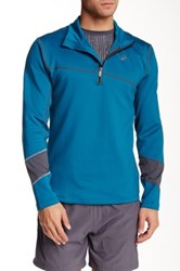 Asics Thermal Half Zip Pullover Blue