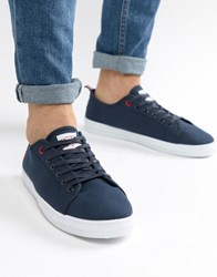 Original Penguin Faze Trainers In Navy Blue