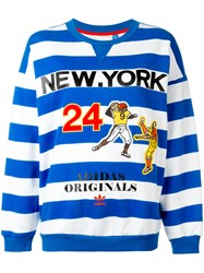 Adidas Originals New York Sweatshirt Blue
