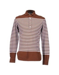 Alain Polo Shirts Brown