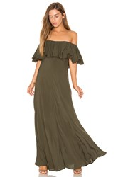 Blue Life Aphrodite Maxi Dress Green