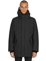 Mackage Down Jacket W Detachable Hoodie Black