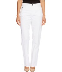 Fdj French Dressing Jeans Petite Sedona Suzanne Straight Leg In White White Women's