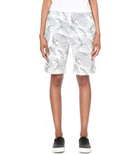 Aape By A Bathing Ape Camouflage Print Jersey Shorts Whz