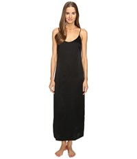 La Perla Silk Night Gown Black Women's Pajama