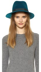 Rag And Bone Floppy Brim Fedora Deep Teal