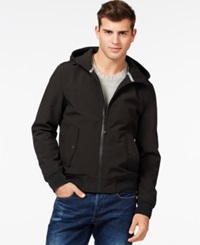 Guess Hooded Softshell Bomber Jacket