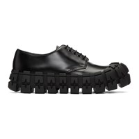 Prada Black Wheel Sole Derbys
