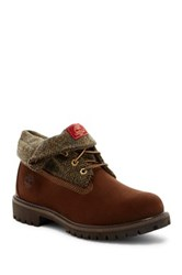 Timberland Roll Top Boot Brown