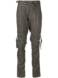 Ann Demeulemeester Argos Trousers Brown