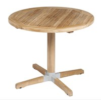 Barlow Tyrie Bermuda Circular Dining Table