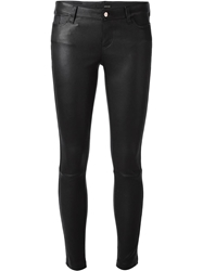 Avelon Skinny Fit Trousers Black
