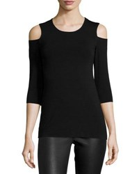 Bailey 44 Deneuve Cold Shoulder Top Black