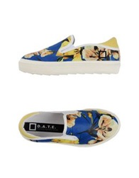 D.A.T.E. Low Tops And Trainers Blue