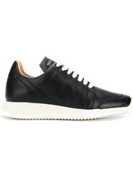 Rick Owens Oblique Sneakers Black