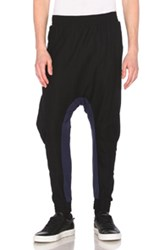 11 By Boris Bidjan Saberi Bi Color Sweatpants In Black