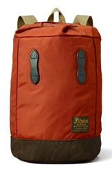 Filson Men's Small Backpack Red Rust Red