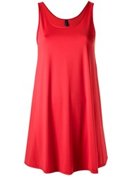 Lygia And Nanny Round Neck Beach Dress Red