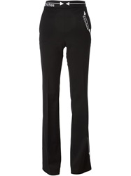 Moschino Embroidered Measurement Trousers Black